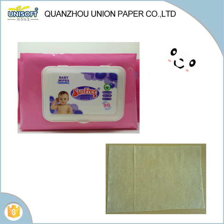Quality guanteed , soft baby wipe , baby wipe plastic case