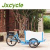 User-friendly electric tricycle for cargo pedal cargo tricycle cargo tricycles on sale