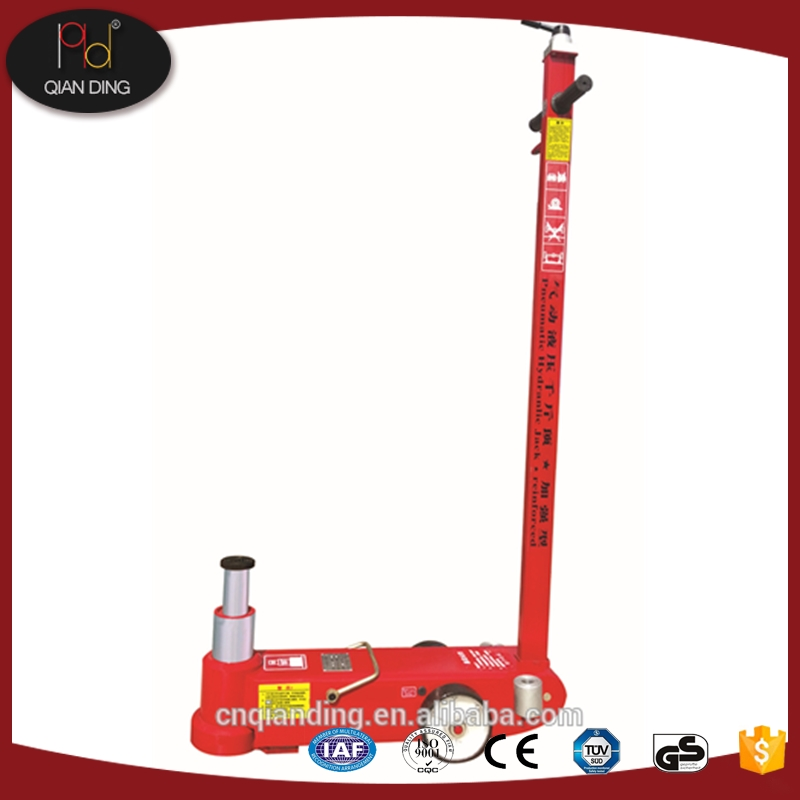 stainless steel Lifting height 25T: 92mm,10t:195mm pneumatic hydraulic jack