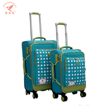Factory supply best sellers SKD travel luggage trolley suitcase bags with computers laptop