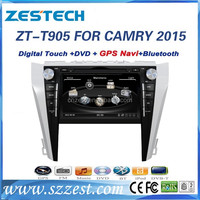 OEM factory autoradio 2 din car DVD GPS for Toyota Camry 2015 Car audio TV Bluetooth navigation AUX 800*480 A/V In/out
