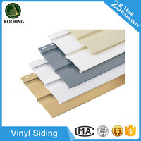 Factory direct vinyl siding, pvc exterior wall panel