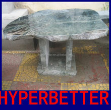 Custom top stone picnic table