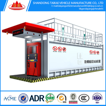 TAIKAI 20 and 40 feet container filling station/mobile petrol station/mobile fuel containers