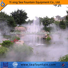 artificial mist fog fountain for decorating