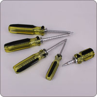 screw drivers sets plastic long handle flat screwdriver function