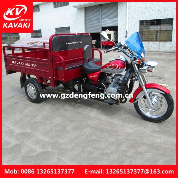 150 - 250cc,150cc,175cc,200cc,250cc Displacement and Open Body Type tricycle cargo bike