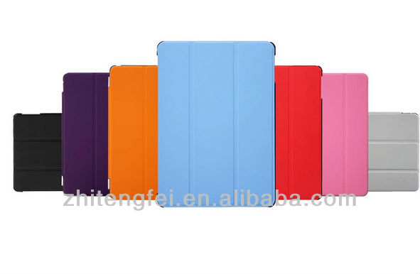 New Flexible Transformer Smart Sleep Wake Stand Case for Ipad Air