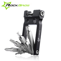 ROCKBROS 20 in 1Multifunctional Mountain Bike Repair Tool Alloy Steel Portable Bicycle Multi Tools Mini Bicycle Repair Tool Kit
