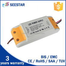 18- 25watt triac dimmable 100-130v/180-240v Input Voltage CE SAA TUV listed 18W triac dimmable led driver