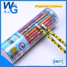 customized picture on pencil for sale with PVC drum