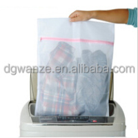 customized pop and fold mesh laundry bag