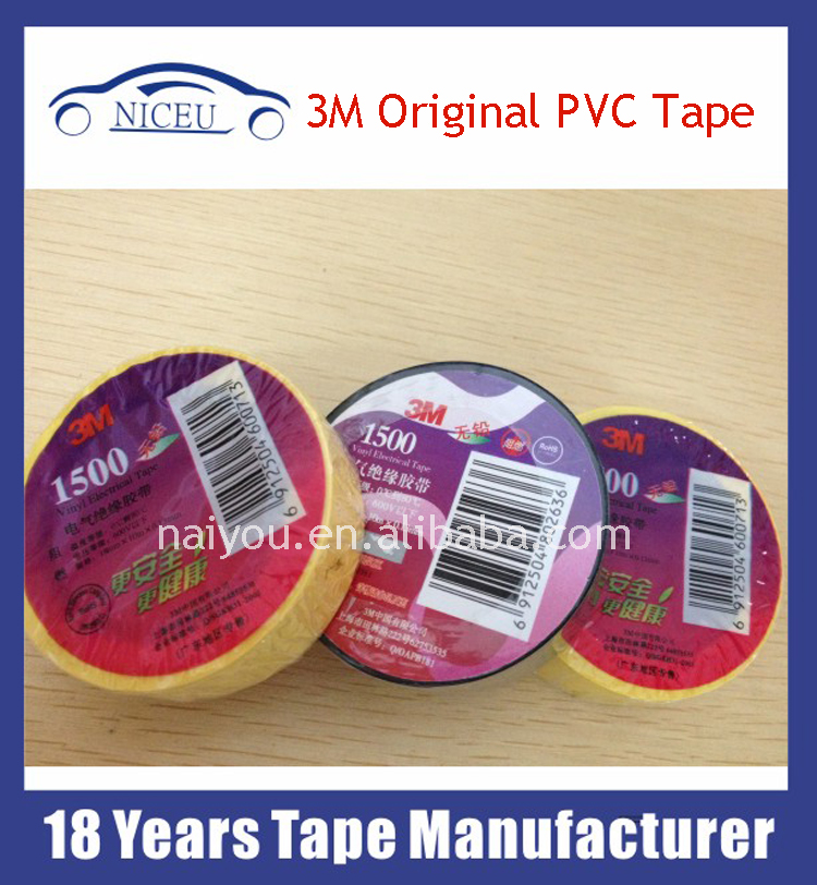 Electrical 3m vinyl PVC Tape Waterproof Insulation Tape