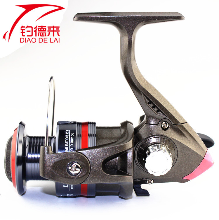 LX series full metal fishing line wheel manufacturer spinning round sea rod fishing gear