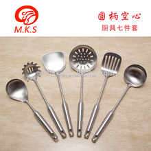 2017 New wholesale hot sell food scoop stainless steel fry shovel kitchenware set kitchen utensils/tool cooking utensils