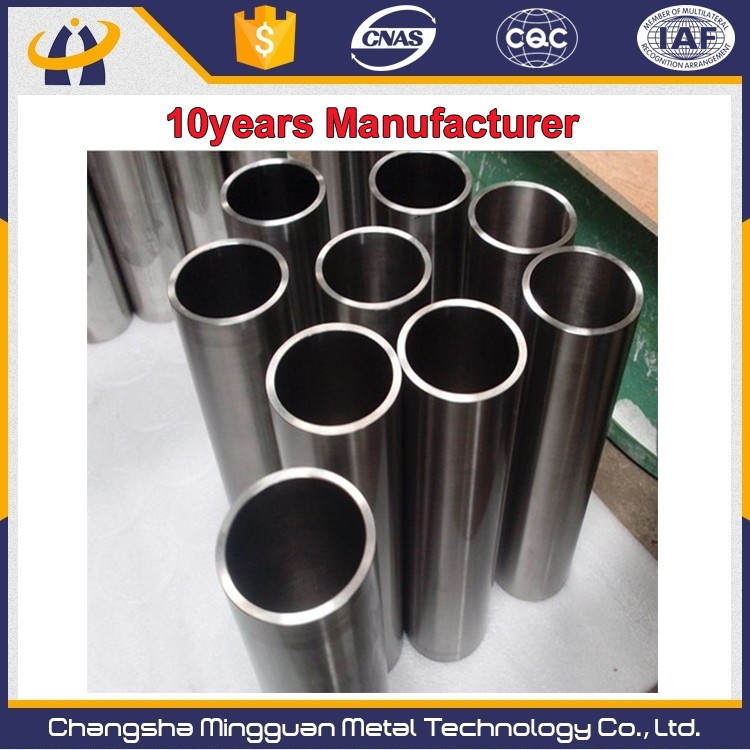 High purity 99.95% Wall thickness 2mm tungsten tube manufacturer price