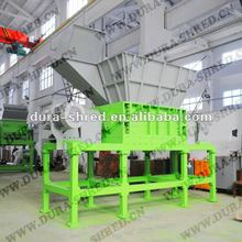 used truck tyre shredder machine for sale in tire recycling plant
