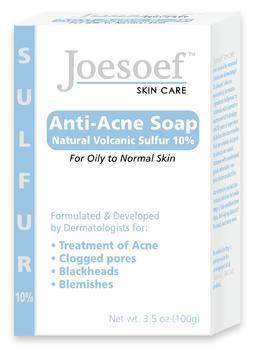 Joesoef Skin Care Anti Acne Soap Natural Volcanic Sulfur
