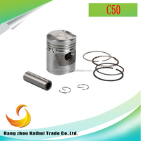 OEM best quality motor cycle engine spare parts C50 piston kits