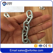 "Low Carbon Steel 7/32"" British Standard Chain"