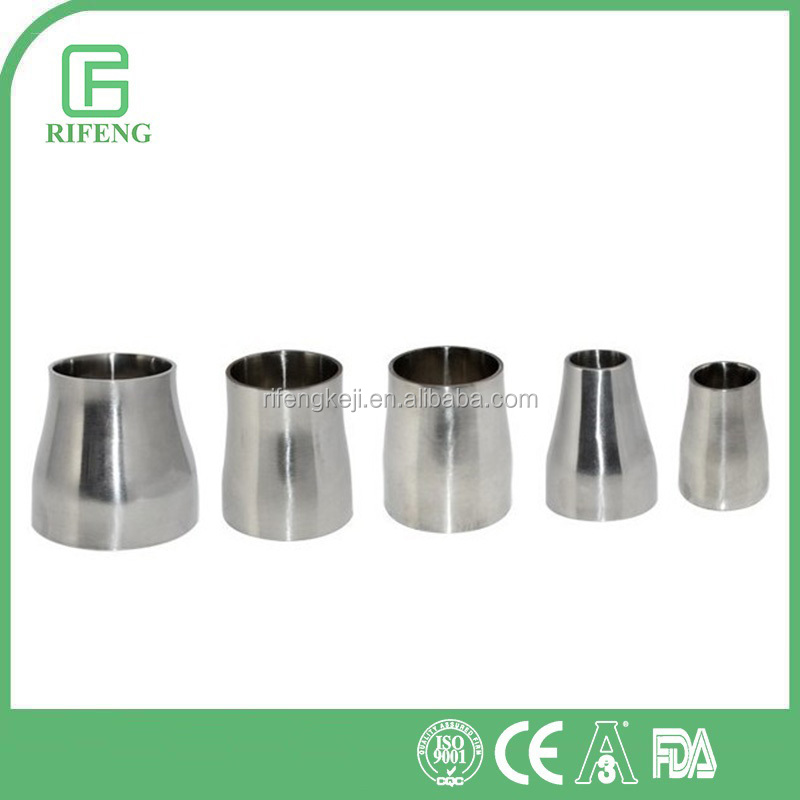 Sanitary Stainless Steel Welding Concentric Transition Reducing Pipe Fitting