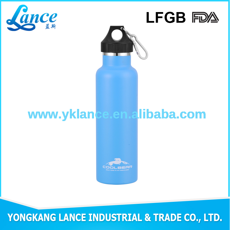 Aluminum 500ml water bottle manufacturing companies direct sale
