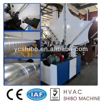 Spiral round duct forming machine