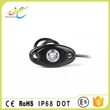 High quality DOT approved 9W single color ATV LED rock light with low price