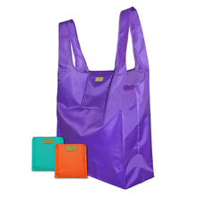 2017 OEM Fashion Cheap Recycled Polyester Eco Foldable Shopping Bag