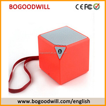 Factory price customized portable wireless magic square cube mini X3 speakers