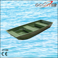 Cheap Aluminum Fishing Boat with flat bottom