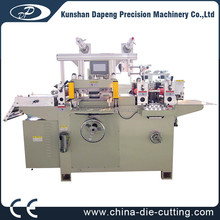 320 automatic die cutting machine flatbed roll to roll die cutting hot stamping machine label die cutter slitter machine