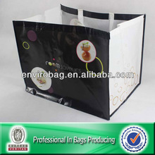 100% Recycled Material Hold 75lbs Grocery Extra Large Shopping Bag