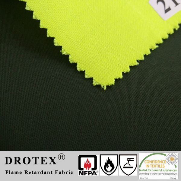Certificate 300gsm Sateen CVC 75/24/1 Waterproof Fire Resistant Antistatic Fabric
