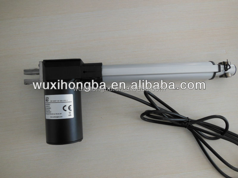 electric linear actuator for scissor lift mechanism