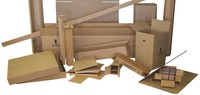 cartons boxes on individual size and printing