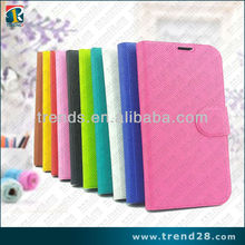 book style leather cell phone case for samsung galaxy s 4
