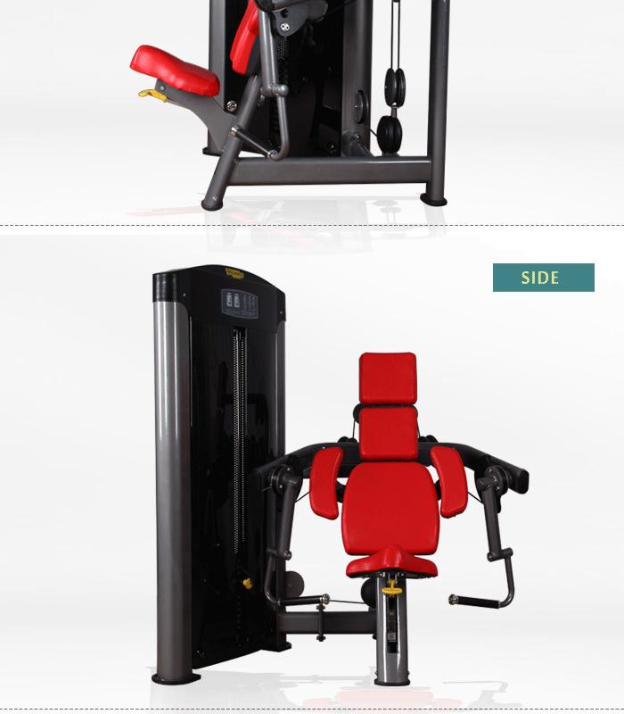 Fitness equipment biceps curl gym training equipment