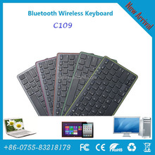 ABS Wireless Bluetooth 3.0 Keyboard for iOS / Android / Windows tablet PC with travel standard