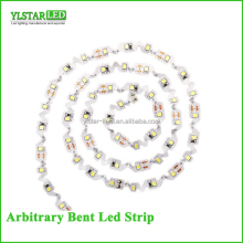 Ultra bright DC12V Arbitrary random Bent 60leds/m 300leds SMD2835 Flexible LED Strip for indoor mini letters numbers signage