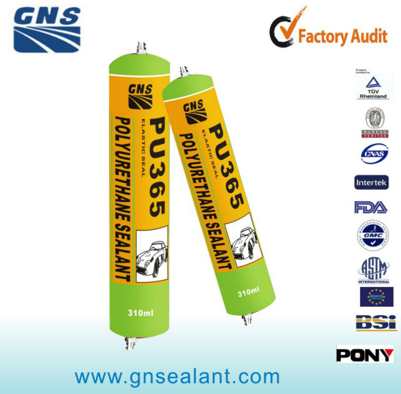 HOT SALE! 310ML ELASTIC ONE COMPONENT HIGH QUALITY POLYURETHANE SEALANT