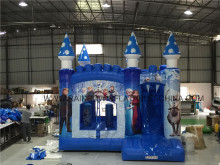 Rainbow Bouncer Slide Combo Inflatable Castle