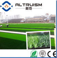 40mm oliver green soccer artificial grass roll for soccer use