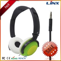 Funny headphones folding computer headset