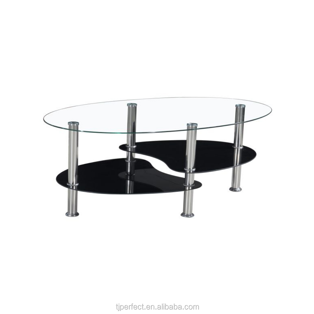 Modern Design Acrylic Coffee Table Nest Of Tables ,glass Tea End Tables