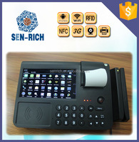 All-in-one Tablet POS Machine with Android System support Barcode Scanning Built-in Thermal Receipt Printer