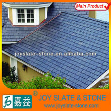 black slate roof tile use for round house roof