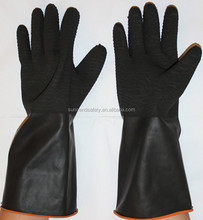 Machinist Working Gloves/hand Work Latex Rubber Industrial Chemical resistant Gloves