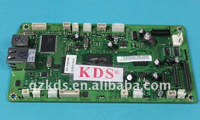 printer spare part mother board CLP-310 logic board plotter parts main board assy