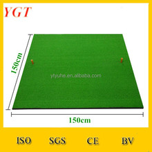 YGT-1515B Artificial Grass Golf Driving Range Practice Putting Mat / Golf Putter Green Mat for Home&Backyard